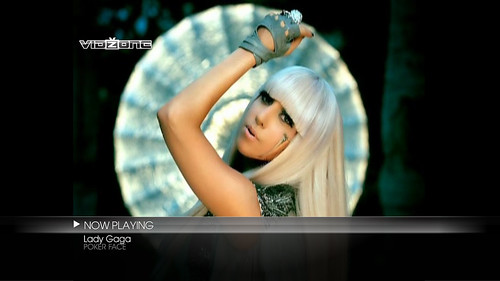 Lady GaGa on VidZone