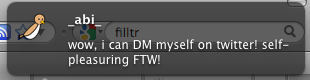 Sample Filttr Notification