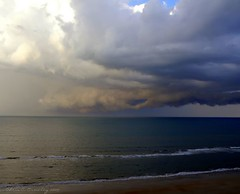 Hole In the Sky (Chris C. Crowley) Tags: ocean sky storm up weather clouds florida thunderstorm thunderhead skyclouds centralflorida holeinthesky daytonabeachshores thecloudappreciationsociety travellersworld walkinginbeauty chriscrowley celticsong22 weatherworldwide grandcoquinagetaway