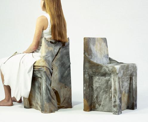 droog cowhide chair
