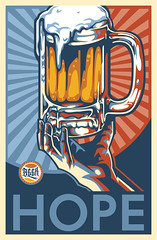 Beer Hope Art (Mel Marcelo) Tags: beer illustration photoshop poster vectorart hand grafx adobeillustrator shirtart melmarcelo meltendo mpyregraphics melitomarcelo