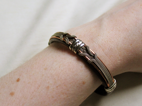 Bracelet, worn