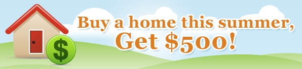 Quicken Loans $500 Home Buyer Bonus: Buy a Home, get $500 from Quicken Loans!