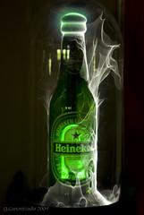 Heineken on fire (Gabby Canonizado) Tags: heineken bahrain nikon gabby d80 coolstuffs c
