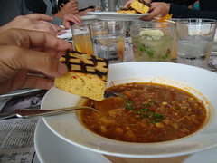 Crab Soup + Cornbread