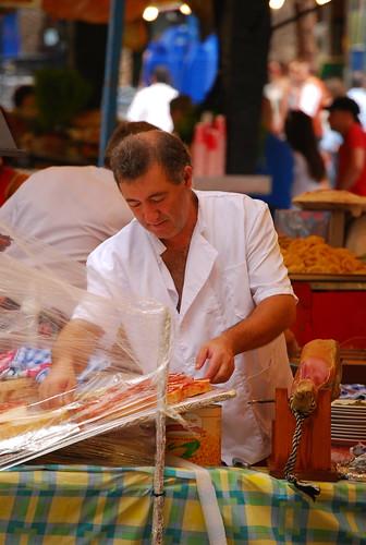 Cuidando el jamón - Hogueras 2009