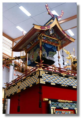 高山祭用的屋台