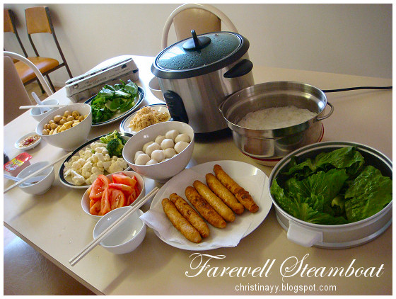 Lucia's Farewell Steamboat