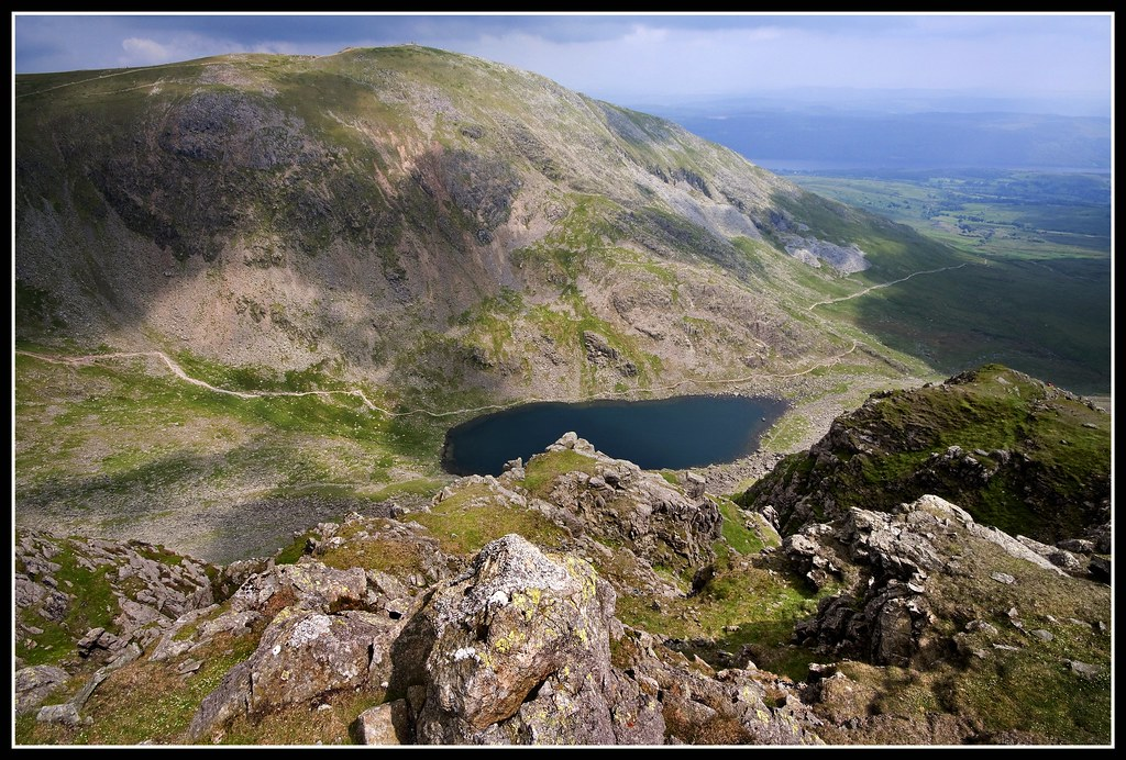 The Old man of Coniston from Dow Crag