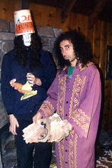 buckethead & serj tankian (GENERATION ALEVI) Tags: silly intense humorous ominous menacing aggressive brucelee quirky theatrical tense campy mellow fiery laidback anxious systemofadown buckethead volatile restrained serjtankian visceral boisterous energetic enterthedragon