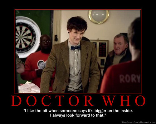 Motivational Poster: Doctor Who