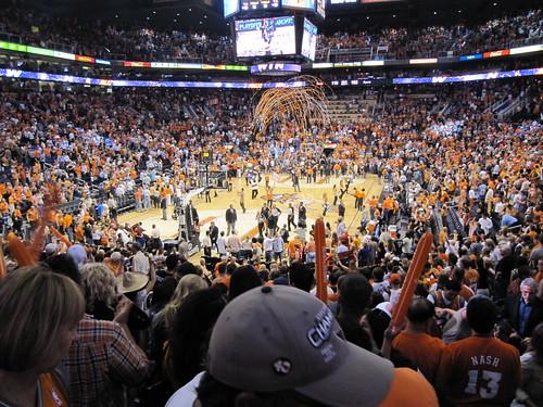 The Phoenix Suns at US Airways Center