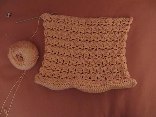 Wip crochet bag