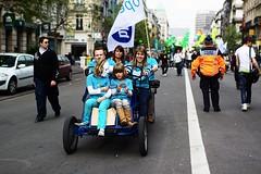 Belgian Gay Pride Parade (Gwenal Piaser) Tags: street blue gay brussels car 35mm canon eos belgium belgique may bruxelles pride belga parade homo belgian rue brussel canoneos 2010 belge 35mmf14 50d 35l canonef35mmf14lusm eos50d canoneos50d ef35mmf14lusm unlimitedphotos gwenflickr