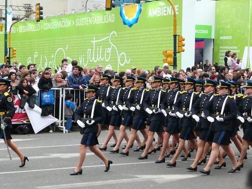 desfile militar - bicentenario argentino