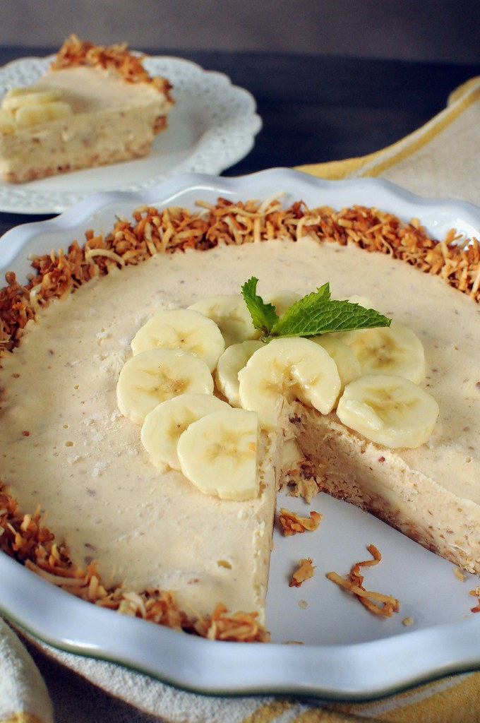Banana Coconut Ice Cream Pie Post
