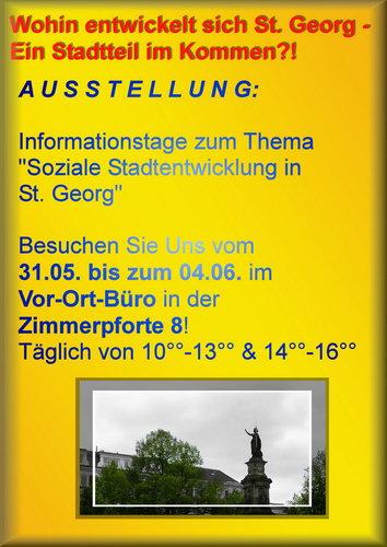 Ausstellung (31.5.-4.6.2010 ): Wohin entwickelt sich St. Georg?