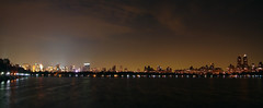 [PANORAMA] NYC from The Reservoir (Diego3336) Tags: park nyc newyorkcity winter light sky urban panorama usa lake ny newyork reflection building nature water skyline night america skyscraper buildings reflections lowlight cityscape skyscrapers nightshot wind centralpark manhattan windy panoramic reservoir midtown timessquare nightlight upperwestside aura theaterdistrict midtownmanhattan centralparkreservoir theatredistrict jacquelinekennedyonassisreservoir photosynth microsoftice