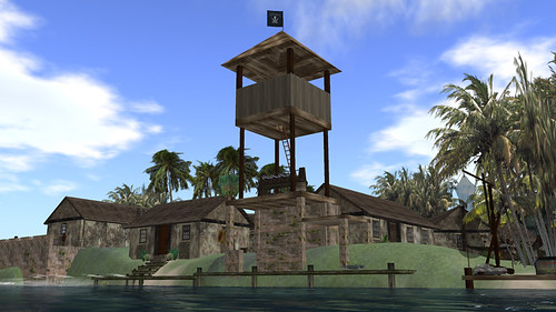 Pirate fort at Jabberwock - image by PJ Trenton