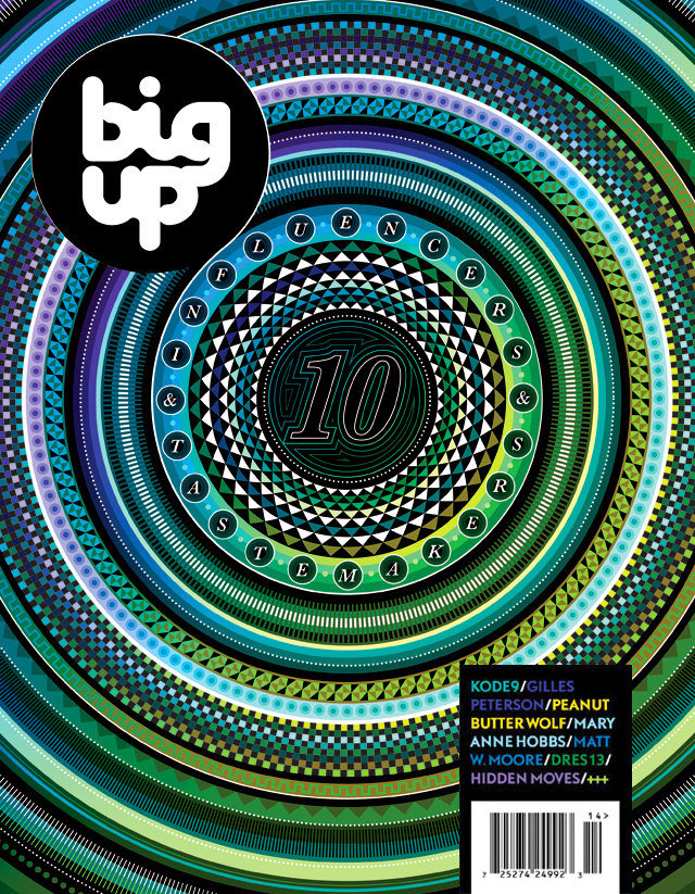 Cover Design : BIG UP # 10.