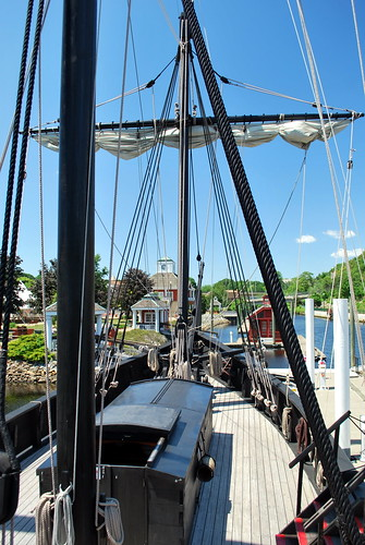View from the Pinta's Upper Deck