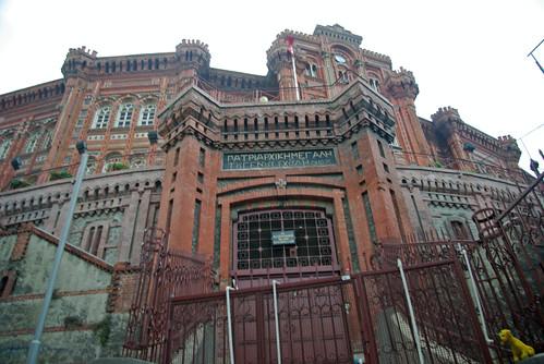 Private Greek High School, Özel Fener Rum Lisesi , Fener, İstanbul, pentax k10d