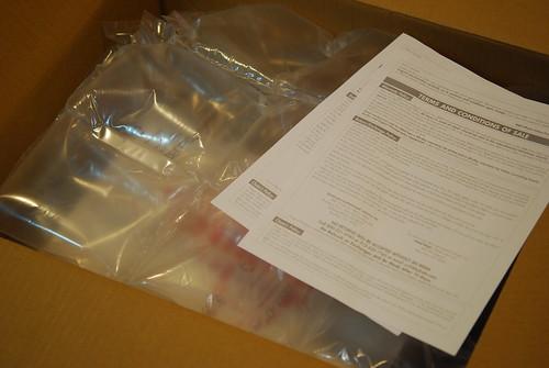 開箱-有泡棉保護
