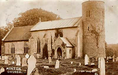 Merton Church 1908 by 4wayland, on Flickr