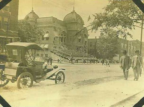 Flint City Hall early 1900s, Original Photo