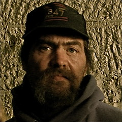 """""""TAKE A GOOD HARD LOOK AT MY FACE... (NC Cigany) Tags: man face square beard lost scary eyes forsakenpeople tourist spooky prison wv snagged jail stare lonely frightening intimidating penitentiary incarceration moundsville 4681 moundsvillewestvirginia"""