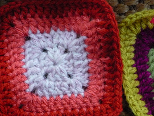 squares in progress