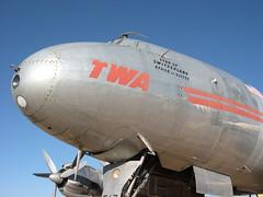 Pima Air & Space Museum (midwinter) Tags: tucson blogged lockheed twa constellation pimaairandspacemuseum vintageairplane