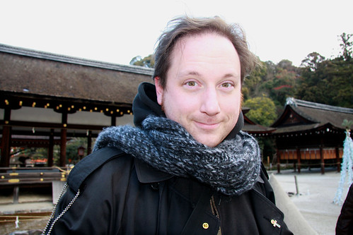 Me at Kamigamo Shrine