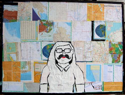 Self-Portrait With Moustache