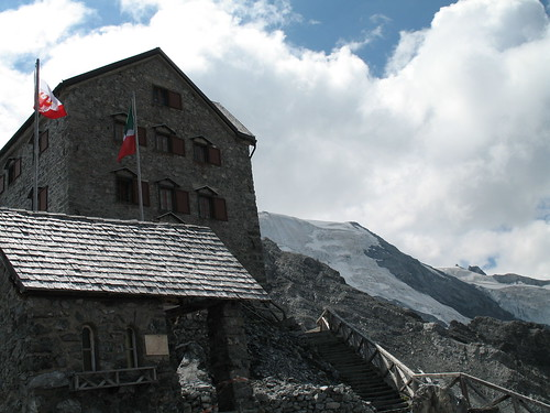 Payerhütte am Ortler in Sulden (3.029 m)
