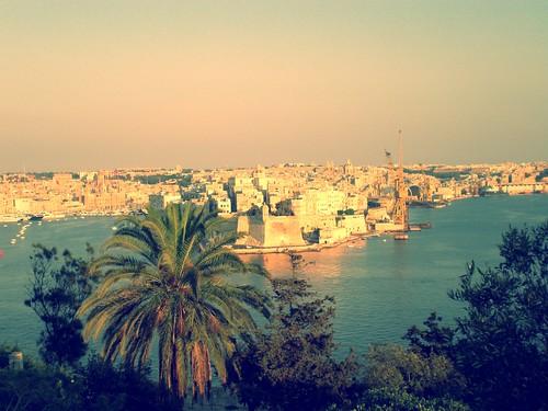 Una de las tres ciudades, MALTA (efecto vintage 03)