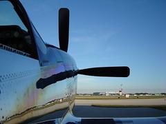 Mustang Kissimmee (Barnaby Kerr Photography) Tags: camera usa america canon eos flying photo florida aircraft flight aeroplane mustang barnaby kissimmee warbird p51 1000d