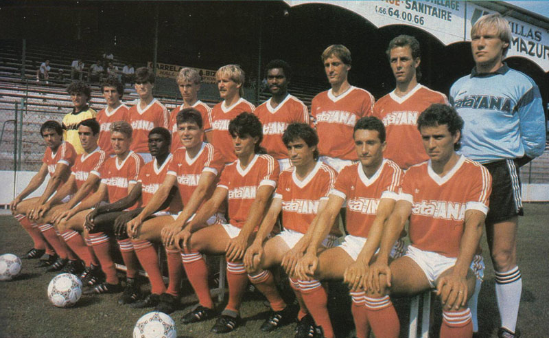 nîmes 1986-87