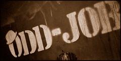 Odd-Job (keidong) Tags: nyc ny newyork hat graffiti bond graffito 007 jamesbond oddjob