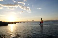 Por do Sol (Brulio Antnio) Tags: sunset brazil sky sun sol praia nature paran brasil mar natureza cu curitiba amanhecer anoitecer guaratuba