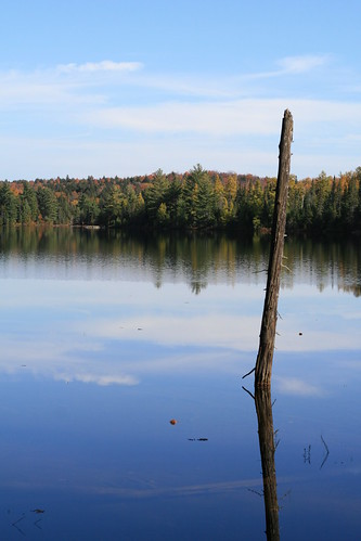 A quiet lake that is hidden from most - about 20 kilometers from the official end of the road.