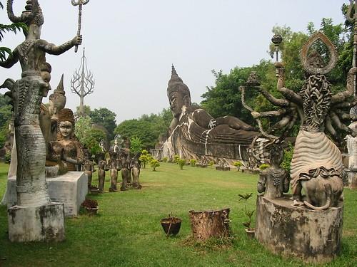 Indrukwekkend Buddhapark