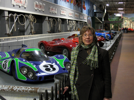 Alyce with Cars (Click to enlarge)