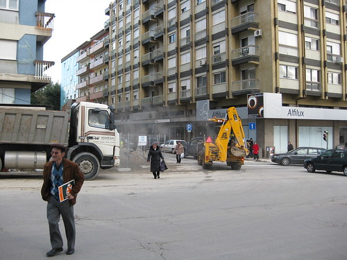 Obras na Avenida da Liberdade
