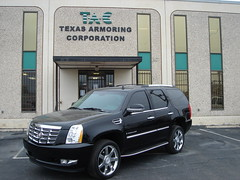Armored Bulletproof 2009 Cadillac Escalade!