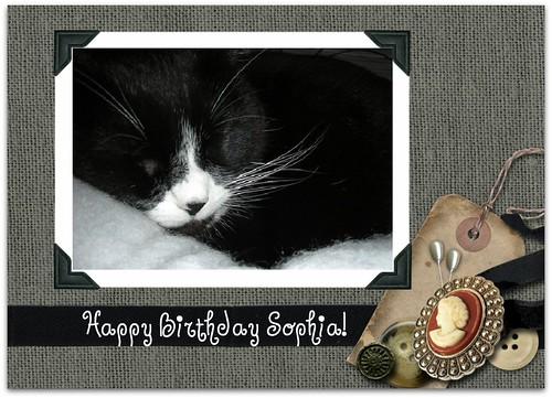 Happy Birthday Sophia!
