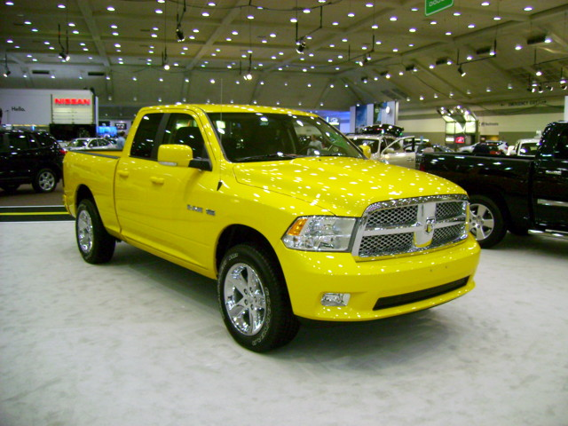 truck pickup dodge ram 2009 carshow baltimoremd baltimoreconventioncenter ram1500 quadcab motortrendinternationalautoshow