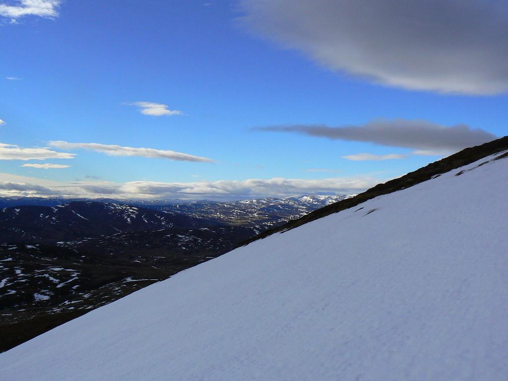 Climbing Morven