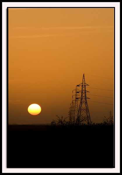 Sunset at Mundra