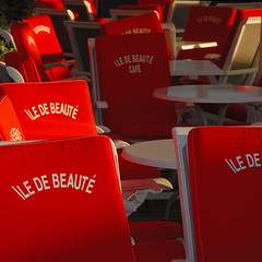 ILE DE BEAUTE = CORSICA (Werner Schnell Images (2.stream)) Tags: red cafe corse corsica ile ws korsika beaute colourartaward inselderschnheit islandofbeauty